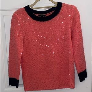 J. Crew sequence sweater